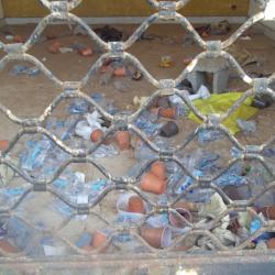 Déchets plastiques non dégradables